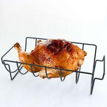 Подставка для жарки в рубчик барбекю антипригарная ребристая