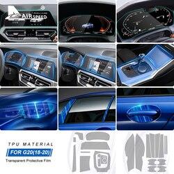 Airspeed Lhd Voor Bmw 3 Serie G20 Accessoires Speciale Tpu Auto-interieur Beschermende Film Sticker Anti Scratch Bump Slip Film