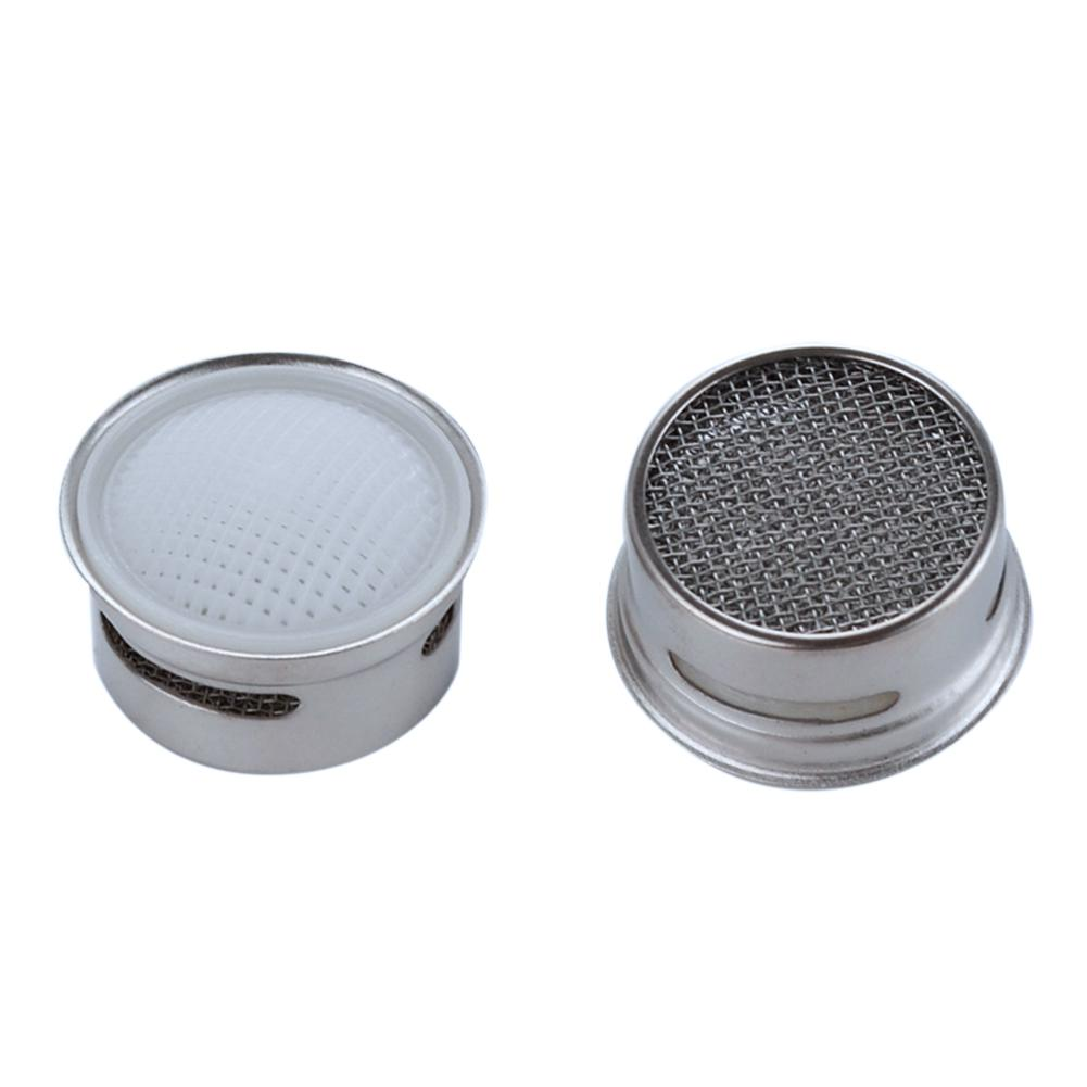 Bathroom Accessories Faucet Aerator 20MM Male Thread Tap SUS304Full Flow Spout Bubbler Filter Stainless Steel For Kitchen