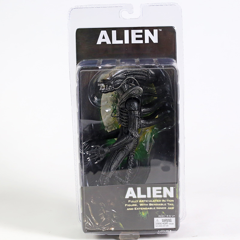 NECA Official <font><b>1979</b></font> Movie Classic Original <font><b>Alien</b></font> PVC Action Figure Collectible Toy 7inch 18cm image