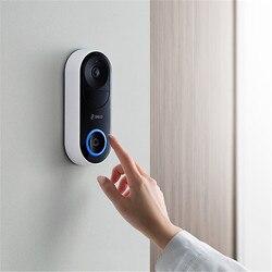 Control remoto 360 timbre de la Cámara inteligente WiFi inalámbrico/Reconocimiento de visitantes/videollamada/visión nocturna Ultra clara #4