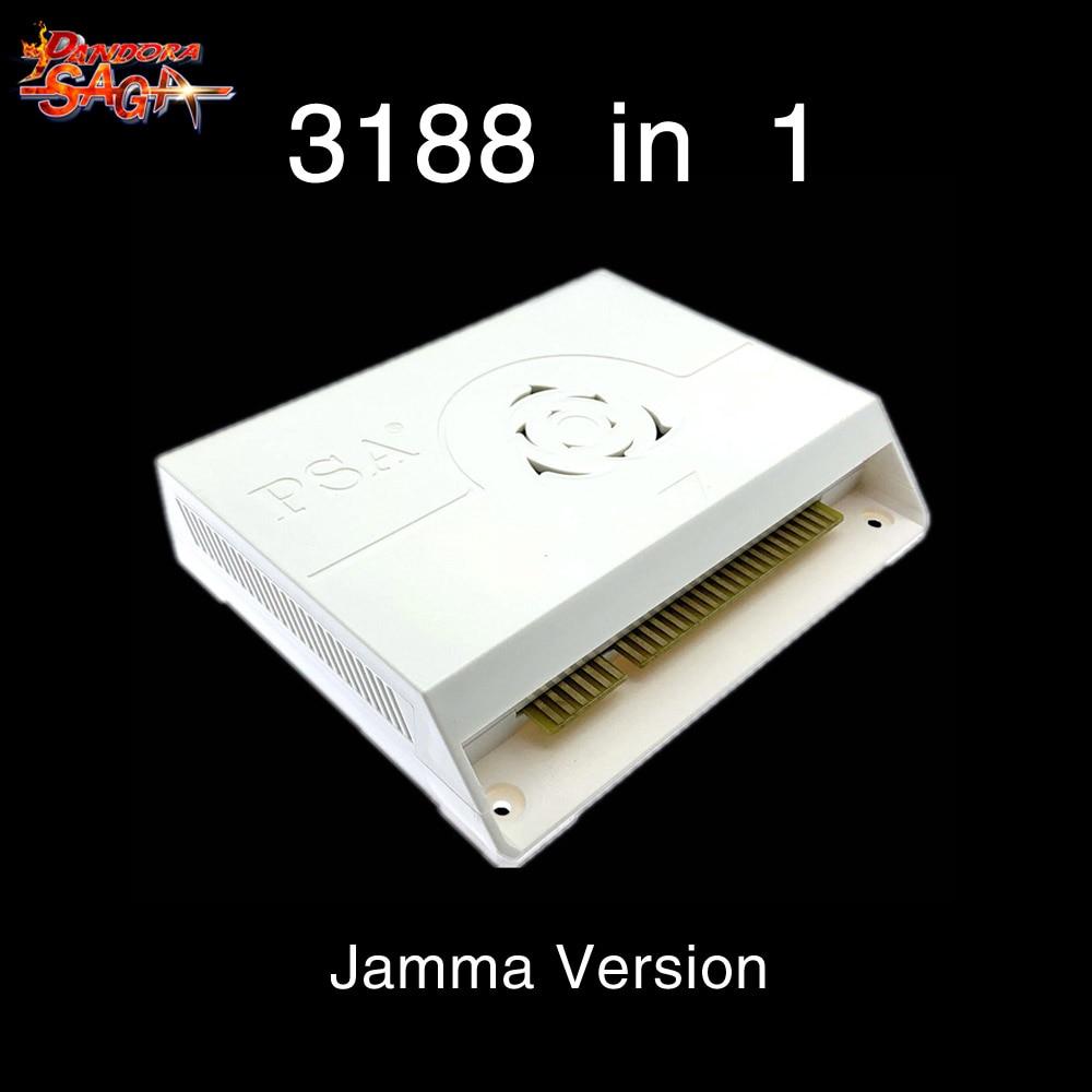 3188 в 1 Pandora Saga box 12 аркадная версия Jamma доска аркадный шкаф джойстик машина монетное управление HD видеоигры HDMI VGA