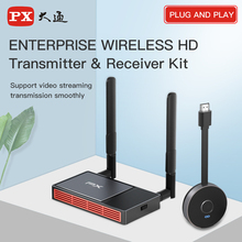PX Wireless HDMI Transmitter & Receiver Extender Video Transmission Streaming Display Dongle for TV Monitor Projector Switch