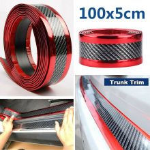 Car Door Protector Guard Bumper Protector Strip Car Sticker Carbon Fiber Film Anti-collision Door Sill Protector Car Styling car door guard bumper carbon fiber rubber styling door sill protector car stylings for chevrolet cruze 2018 2019 accessories