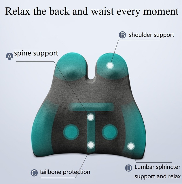 Back Support Memory Foam Cushion for Big Chair 3