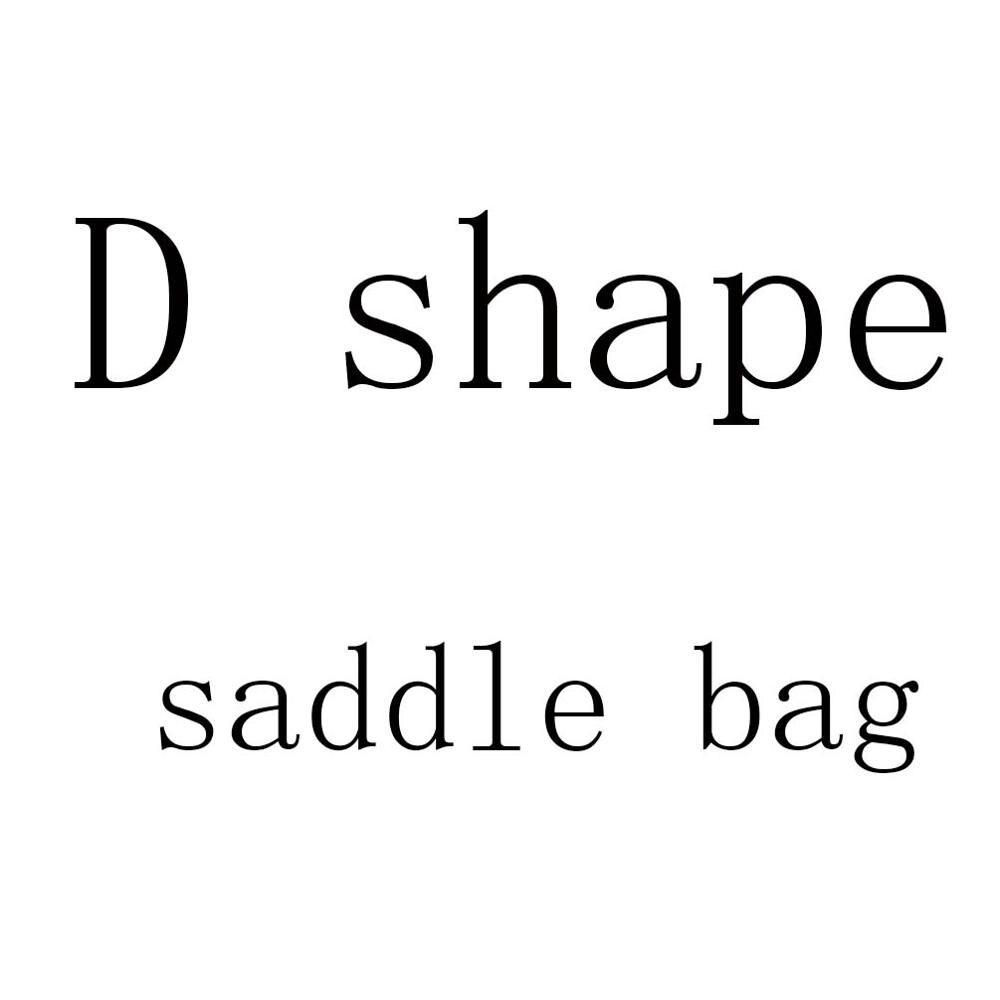 Women D Letter Shape Saddle Bag Desiger Lady Crossbody Bag Shoulder Bags Purse For Women & Cool Girl