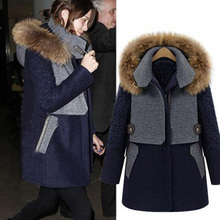 купить Maternity Big Fur Parkas Pregnant Winter Coat Thick Cotton Winter Jacket Maternity Outwear Parkas for Pregnancy Winter Jacket по цене 2708.81 рублей