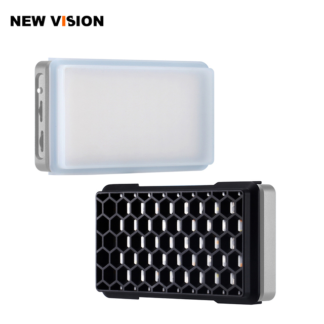 FalconEyes F7 RGB LED Light Diffuser with Honeycomb Grid