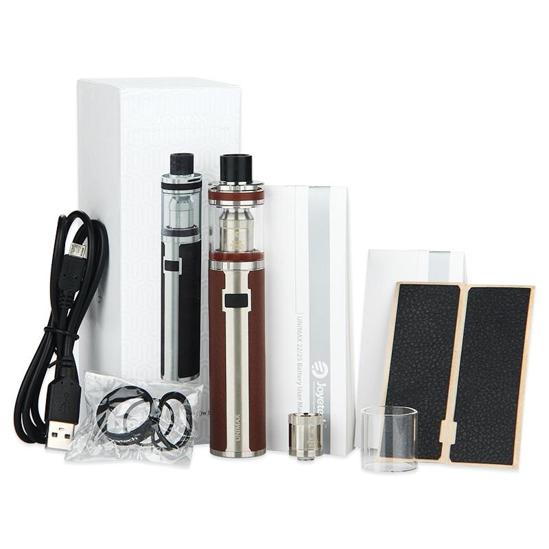 Joyetech UNIMAX 25 Starter Kit 3000mah 5ml Vape Pen Kit With BFL Kth-0.5ohm DL. Head Coil Vape UNIMAX 25 Battery Atomizer