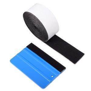 Image 5 - EHDIS Vinyl Squeegee No Scratch Protective Edge Cloth Carbon Fiber Film Install Window Tint Scraper Waterproof PTFE Protector