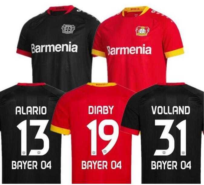 men kit 20 21 Leverkusen shirt HOME L.BENDER 2020 2021 Leverkusen HAVERTZ shirt DEMIRBAY ALARIO VOLLAND Men MAILLOT DE shirt