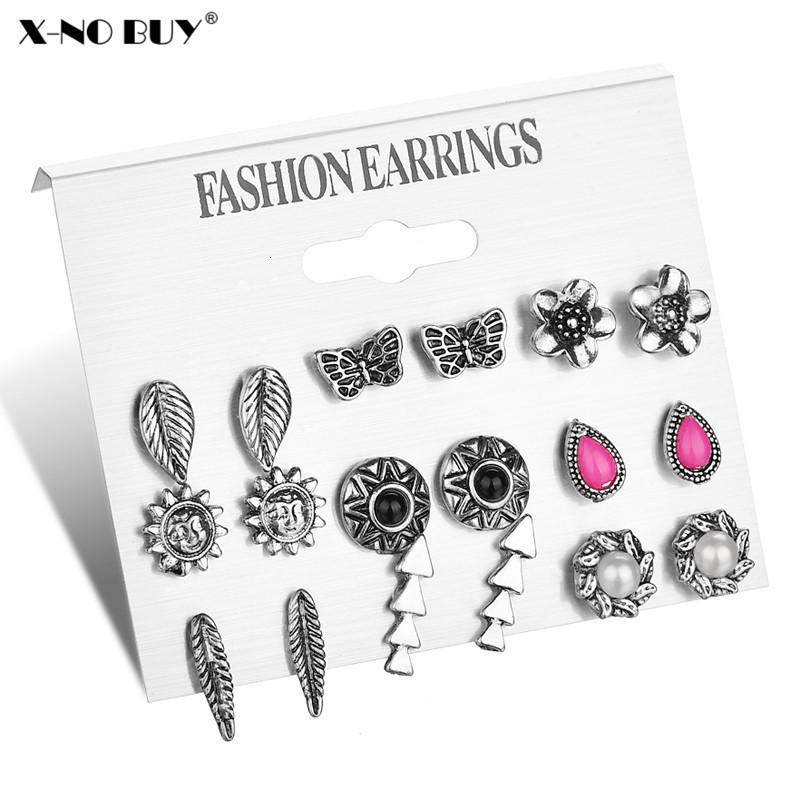 KAKAKI 1 Pairs Fashion Women Girl Earrings Jewelry 1Set Stud Earring Yellow