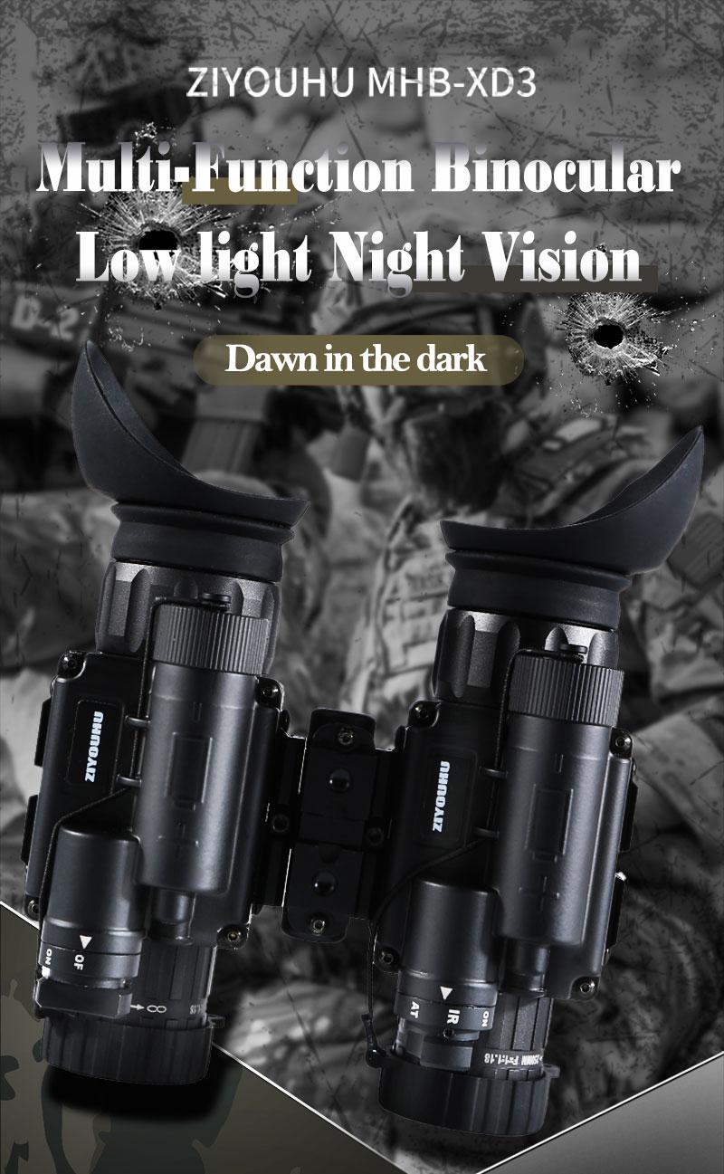 H0b626e0e2b614726a0e05df6c3e3f2aap - แว่นมองภาพกลางคืน กล้องมองภาพในที่มืดติดหัว IR Night Vision แว่นกลางคืน อินฟาเรตจับความร้อน เกรดใช้ในกองทัพทหาร ปฏิบัติการยุทธวิธีกลางคืน  <ul>  <li>แว่นตามองกลางคืนแบบสวมหัว</li>  <li>แว่นอินฟาเรต จับภาพด้วยความร้อน</li>  <li>ผลิตภัณฑ์เกรดกองทัพ</li>  <li>สามารถแยกส่วนเป็น 2ชิ้น ซ้าย-ขวา</li>  <li>มีฟังชั่นการซูมแบบกล้องส่องทางไกล</li>  <li>ของแท้ การรับประกัน 1ปี โดยผู้ผลิตในต่างประเทศ</li> </ul>