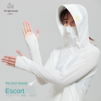 2020 New Style Womens Sun-Proof Clothing Summer Hooded Long-Sleeved UV Protection Loose Outdoor Sun-Protective Clothing new men and women long sleeved siamese sunscreen snorkeling service hooded diving sun clothing jellyfish siamese swimwear