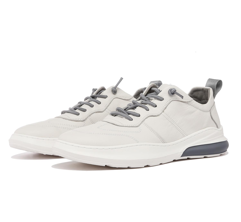 ecco white leather sneakers