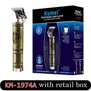 Image 3 - Balding Clipper Kemel 0 mm Male Trimmer Kamei Bald Head Shaving Kmei Scraper Kemei Short Hairs Cutting Kemey Finishing Detailing