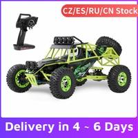 WLtoys 12428 1/12 RC Auto 2.4G 4WD 50km/h Ad Alta Velocità Auto Monster Truck Radio Control RC Buggy Off-Road Giocattoli Elettrici