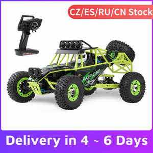 WLtoys 12428 1/12 RC Car 2.4G 4WD 50km/h High Speed Cars Monster Truck Radio Control RC Buggy Off-Road RC Car Electric Toys(China)