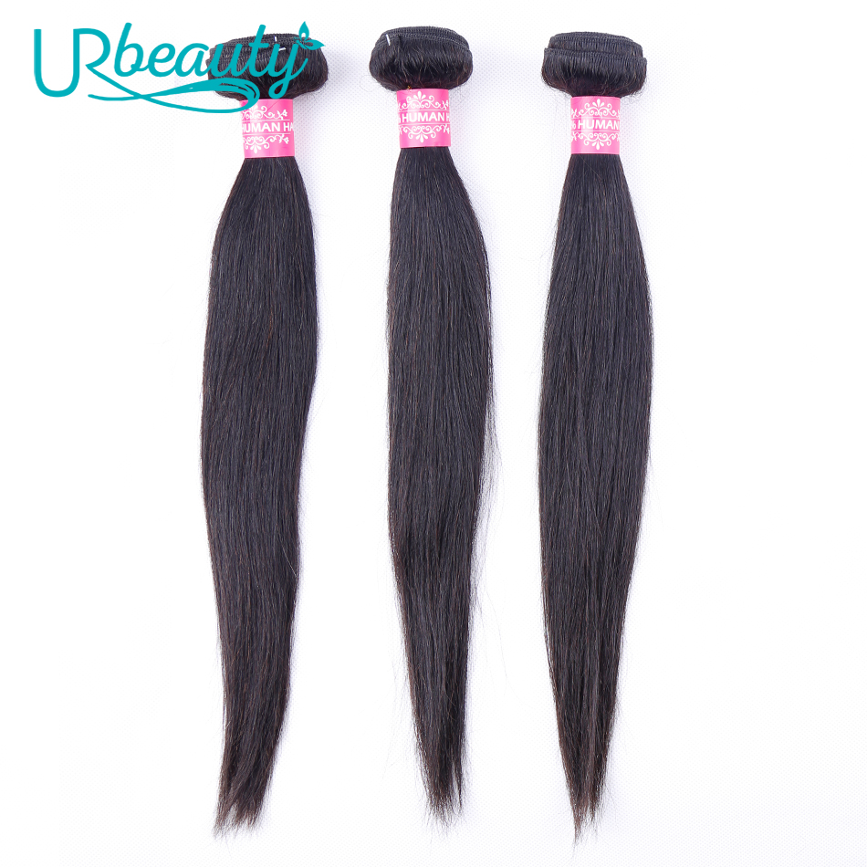Long Straight Hair <font><b>Bundles</b></font> Brazilian Human Hair <font><b>Bundles</b></font> Non Remy Hair UR Beauty Natural Color 18 20 <font><b>22</b></font> 24 26 <font><b>Inch</b></font> Can Buy image