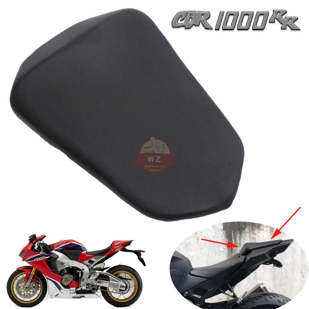 Siège passager arrière moto pour Honda 2017 2018 CBR1000RR CBR 1000RR siège en cuir