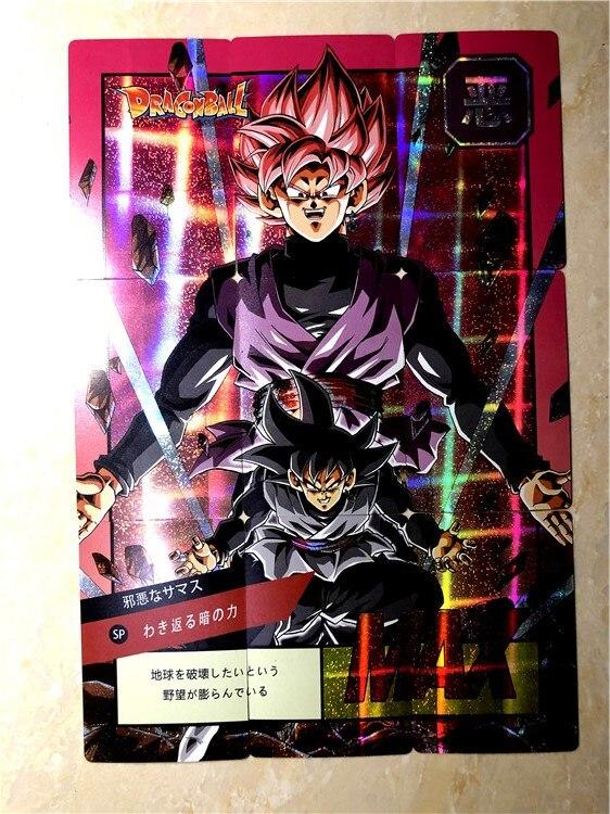 27pcs 9 In 1 Super Dragon Ball Z Genki DamaSpirit Bomb Heroes Battle Card Goku Black Vegeta Super Game Collection Cards