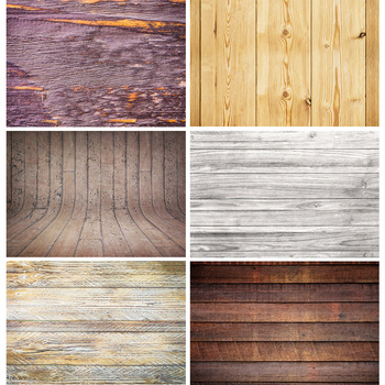 SHENGYONGBAO Vinyl Custom Photography Backdrops Wood Planks and Scenery Theme Photo Studio Background 20203TT-23