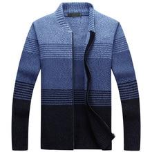 Мужской свитер, кардиган на молнии, Новое поступление, осень и зима, повседневное мужское трикотажное пальто с длинным рукавом, корейский стиль, горячая Распродажа M43