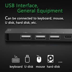 Image 4 - AIXXCO USB C HUB USB C à 3.0 moyeu HDMI Thunderbolt 3 adaptateur pour MacBook Samsung Galaxy S9 Huawei P20 Mate 20 Pro Type C HUB USB