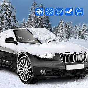 Image 2 - Capa de para brisa magnética para carro, capa anti congelamento para neve, para proteção contra o sol