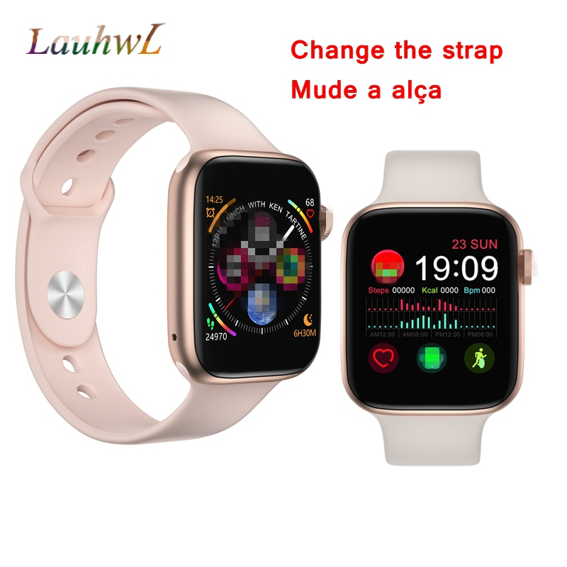 iwo 8 lite plus men smart watch women Series 4 Bluetooth music heart rate watch 4 smartwatch for Apple iphone huawei xiaomi(China)