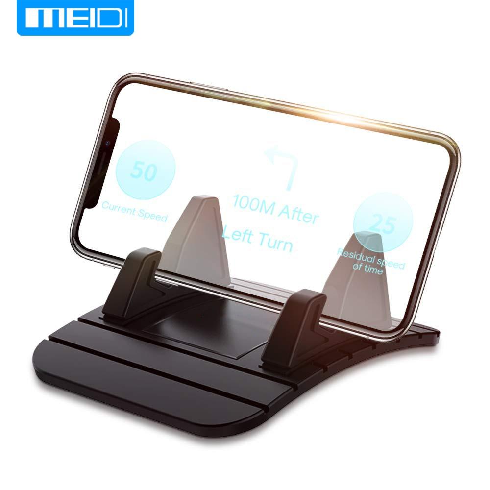 MEIDI Universal Car Dashboard Non Slip Pad Phone GPS Holder Mat Anti-skid Silicone Mat Car Accessories For Cellphone Smartphone