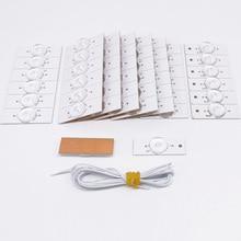 3 в 6 в SMD лампы с оптическими линзами Fliter для 32-65 дюймов светодиодный ТВ Ремонт провода инструменты ferramenta аксессуары