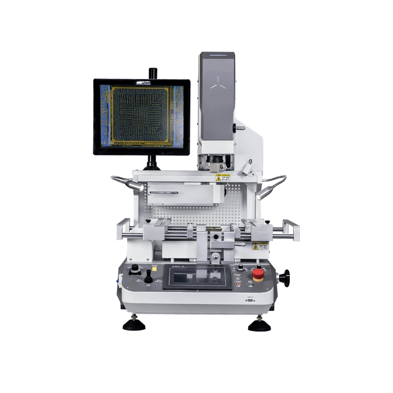 BGA Rework Station with Precise Optical Alignment System and 3 Independent Control Heaters