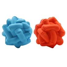 Super Toughness Pet Molar Rubber Toy Non-toxic Solid Cleaning Teeth Dog Interactive Toys For Small Medium Large Pets