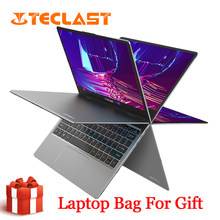 Teclast F5 Laptop Windows 8 Gb Ram 256 Gb Ssd Intel Gemini Lake N4100 1920*1080 Quick Charge 360 roterende Touch Screen Notebook Pc(China)
