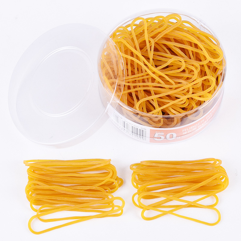 50 Pieces  Elastic Rubber Bands Bank Paper Bills Money Home Office Stretchable Band Sturdy Rubber Elastics Bands