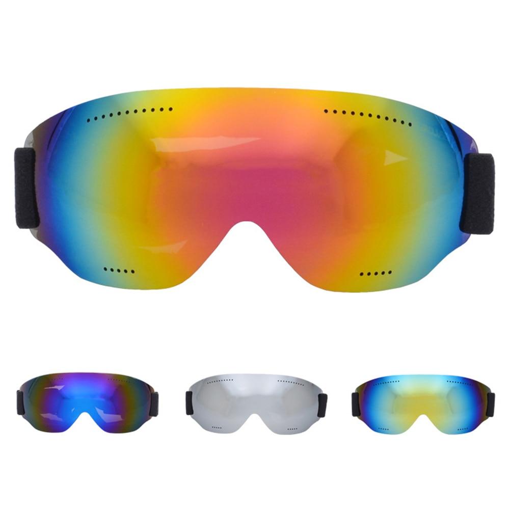 Fashion Men Women Ski Glasses Windproof UV400 Sports Ski Goggles Dustproof Skiing Eyewear PC Material New Dropshipping New S17