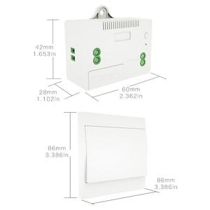 Image 5 - Interruptor inalámbrico RF433 sin batería, interruptor de luz de pared con Control remoto, autoalimentado, sin cables, transmisor de Panel de pared necesario.