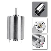 RUIMIO 1pc 24MM Rotary Tattoo Machine Parts Professional Coreless Motor With Cable For Tatto Machine Accessories (Silver)