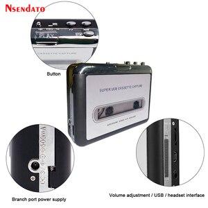 Image 4 - Kaseta USB odtwarzacz taśmy do MP3 konwerter przechwytywania Adapter odtwarzacz muzyki Audio taśma kaseta USB magnetofon kasetowy i odtwarzacz