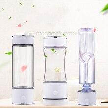 SPE/PEM Technology Hydrogen Water Generator 420ml Cup Body Alkaline Water Ionizer Bottle Hydrogen Rich Water Maker