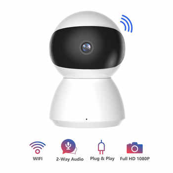 Newest HD 1080P IP Camera WiFi Wireless Night Vision Auto Tracking Home Security Surveillance CCTV Network Baby Monitor Mini Cam - DISCOUNT ITEM  39% OFF All Category