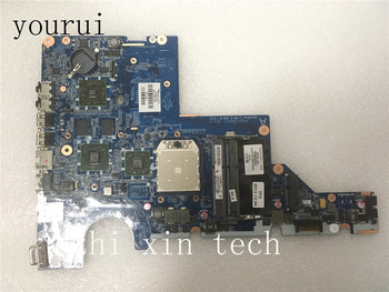 yourui  632186-001 632186-601 For HP CQ42 G42 CQ62 G62 Laptop motherboard DA0AX2MB6F0  Test all functions 100%