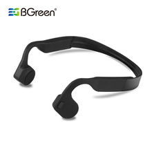 цена на Bluetooth 4.0  Wireless Headset  Sports Bone Conduction Earphone Headphone Ear Hook Stereo with Mic