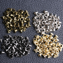 Eyelet-Buttons Metal Mini Shoes Sewing-Accessories for DIY Doll Buckle Bag 50pcs