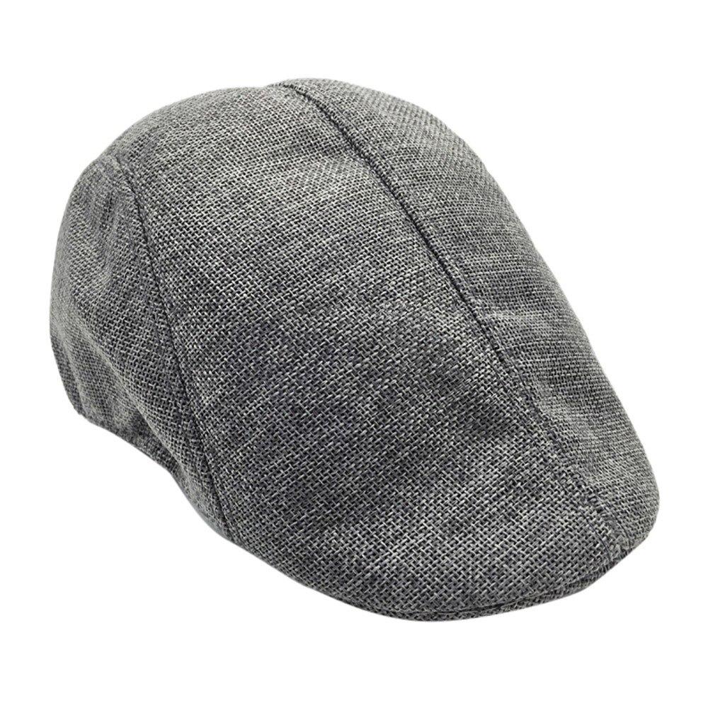 Kids Childrens 8 Panel Baker Boy Hat Newsboy Vintage Tweed Wool Peaky Blinder
