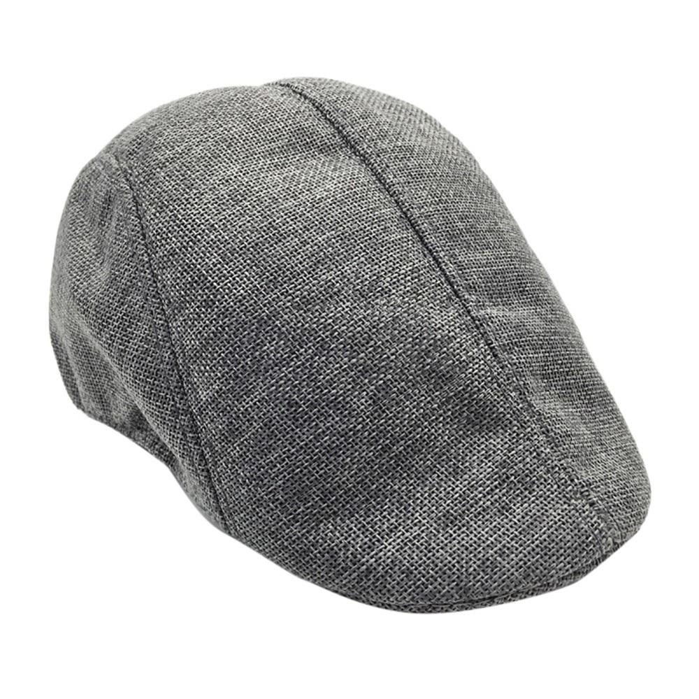 Men Summer Visor Hat Sunhat Mesh Running Sport Casual Breathable Beret Flat Cap Шапка Берет Beret Cap Peaky Blinder Casquette