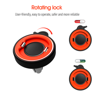 Image 3 - Phone Holder For Phone In Car Air Vent Mount, For Phone in Car Air Vent Clip Mount No Magnetic Mobile Phone Holder GPS Stand