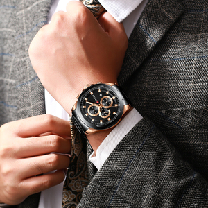 Image 3 - Najnowszy CURREN męskie zegarki Top marka luksusowy wojskowy stalowy zegarek sportowy dla człowieka męski wodoodporny męski zegar Relojes