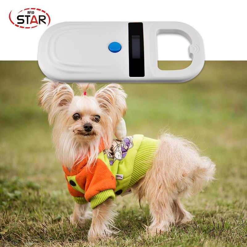 ミニ rfid ペットスキャナ犬猫 ID 動物マイクロチップ readervets 充電式バッテリー電源 USB FDX-B